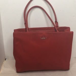 Kate Spade ♠️ Dawn tote  In Red